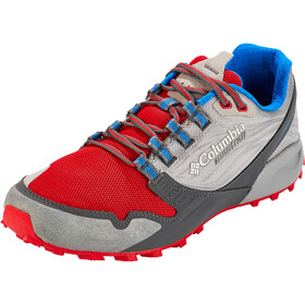 Columbia Alpine FTG Chaussures Homme, monument/bright red